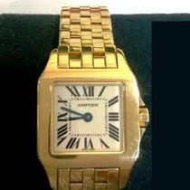 Cartier Santos Demoiselle Желтое золото 20mm