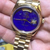 Rolex Day-Date Yellow gold 36mm Blue