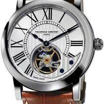 Frederique Constant Manufacture Heart Beat Steel Silver United States of America, New York, Brooklyn