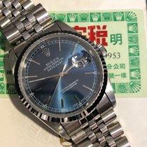 Rolex Datejust Ref 16234 Steel - White Gold Bezel T Serial