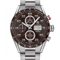 TAG Heuer Carrera Calibre 16 Steel 43mm Brown