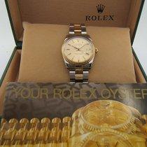 Rolex Oyster Date Automatic Or 18k Et Acier Bracelet Oyster...