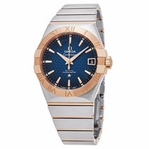 Omega Men's Constellation Stainless Steel Swiss Automatic...