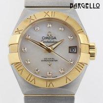 Omega Constellation Ladies gebraucht 28mm Gold/Stahl