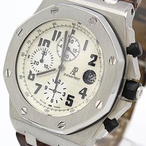 Audemars Piguet Royal Oak Offshore Chronograph Stål 42mm Champagnefarget