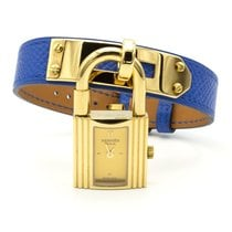 Hermès Kelly Gold/Steel 20mm No numerals