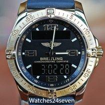 Breitling Aerospace Aur galben 41mm Negru Arabic