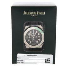 Audemars Piguet Chronograph 42mm Automatic pre-owned Royal Oak Offshore Chronograph Black