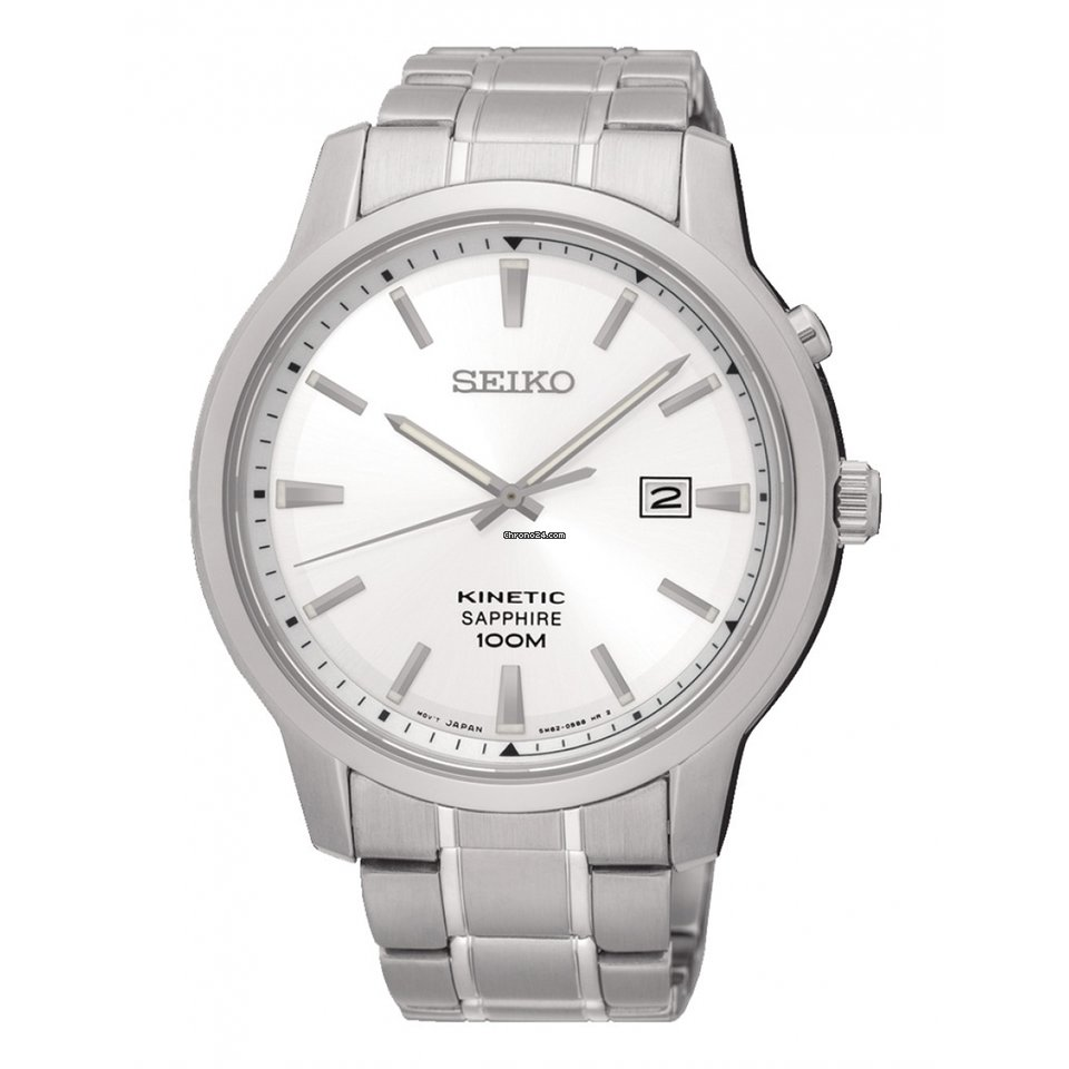974ccdd2c612 Seiko Reloj SEIKO Neo Classic Hombre Plateado Acero Calendario for  315 for  sale from a Trusted Seller on Chrono24