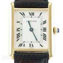 Cartier 590005 Silber Tank Vermeil 24mm