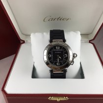 Cartier Pasha Seatimer Steel 40mm Black Arabic numerals United States of America, Iowa, Iowa City