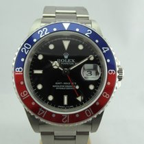 Rolex GMT-Master Ατσάλι 40mm Μαύρο Xωρίς ψηφία