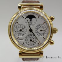 IWC Da Vinci Perpetual Calendar Yellow gold 39mm White No numerals United States of America, Texas, Houston