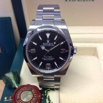 Rolex Explorer Steel 39mm Black Arabic numerals United Kingdom, Wilmslow
