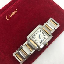 Cartier Gold/Steel 28mm Automatic 2302 pre-owned Singapore, Singapore