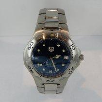 TAG Heuer Kirium Steel 37mm Blue No numerals