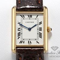Cartier Жёлтое золото Кварцевые Tank Louis Cartier подержанные