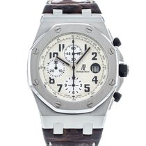 Audemars Piguet Royal Oak Offshore Chronograph Steel 42mm White