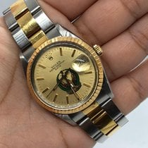 Rolex Oyster Perpetual Date Gold/Steel 34mm Gold No numerals UAE, Abu Dhabi