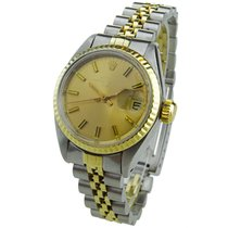 Rolex Lady-Datejust Золото/Cталь 25mm
