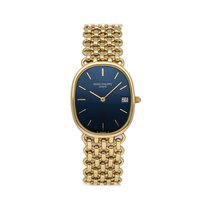 Patek Philippe Golden Ellipse Yellow gold 27mm Blue No numerals United States of America, Pennsylvania, Bala Cynwyd