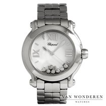 Chopard tweedehands Quartz 36mm Wit Saffierglas
