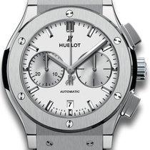 Hublot Classic Fusion Chronograph Titan 45mm Silber