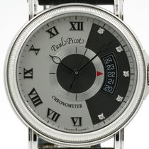 "Paul Picot ""Atelier 42 Classic Automatic"" Diamonds index"