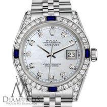 Rolex Lady-Datejust Stahl 31mm Perlmutt Keine Ziffern