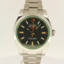 Rolex Milgauss GV 'Green' from 2014 complete with box...