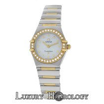 Omega Ladies Omega Constellation My Choice 22MM Steel & Gold