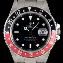 Rolex GMT-Master II Fat Lady Coke Bezel B&P 16760