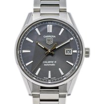 TAG Heuer Carrera Calibre 5 Steel 39mm Grey