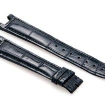 Cartier Black-Colored Shiny Genuine Alligator Strap
