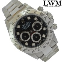 Rolex Daytona 16520 by Marcelo Zalayeta diamonds dial Full Set