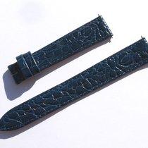 Hirsch Croco Band Crocoarmband 16mm Blau Blue Strap 72/113 ...