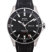 Mido Ocean Star Ocel 42.5mm Černá