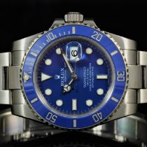 e1b24b24978 Rolex Submariner Or blanc