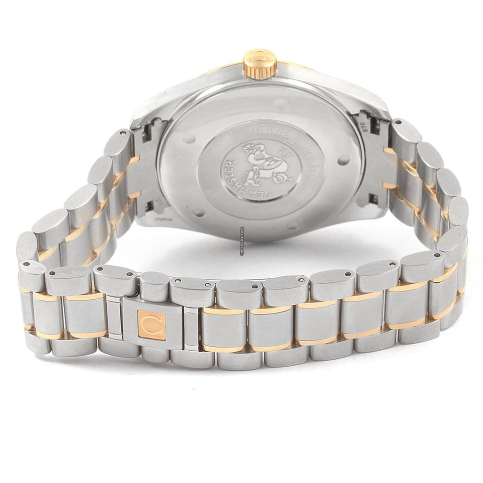 224c44ee2b99 Omega Seamaster Aqua Terra Steel Yellow Gold Watch 2317.30.00... for Php  155
