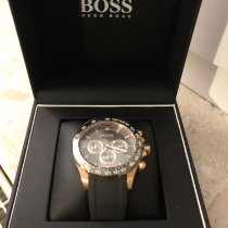 Hugo Boss 47mm Automatic 2018 pre-owned Grey