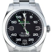 Rolex Air King (Submodel) pre-owned 40mm Steel
