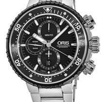 Oris ProDiver Chronograph Titanium 51mm Black United States of America, New York, Brooklyn