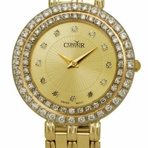 Condor Yellow gold 30mm Quartz CDRVCH new