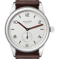 NOMOS Club Datum Steel 38.5mm Silver