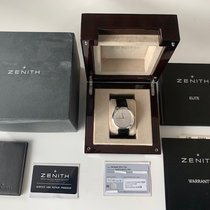 Zenith Elite Ultra Thin Steel 40mm Silver No numerals United States of America, Illinois, Chicago