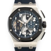 Audemars Piguet Royal Oak Offshore Tourbillon Chronograph Platino 44mm Transparente