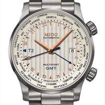 Mido Multifort GMT Stahl 42mm Silber Deutschland, Berlin