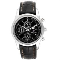 Breitling Transocean Chronograph 1461 Acier 43mm Noir