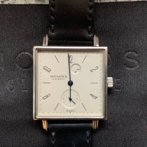 NOMOS Tetra pre-owned White Leather