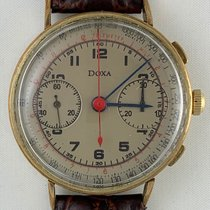 Doxa DOXA Chronograph  Valjoux 22 Vintage 18K Gold Plated 1940 pre-owned